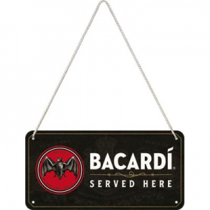 Hngeschild---BACARDI---SERVED-HERE
