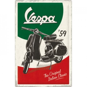 Blechschild-3D-XL---VESPA---THE-ORIGINAL-ITALIAN-CLASSIC