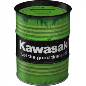 Oelfass-Design-Spardose---KAWASAKI---LET-THE-GOOD-TIMES-ROLL