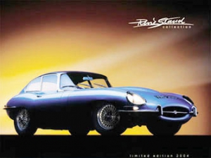 Blechschild-3D---JAGUAR-E-TYPE---RENE-STAUD-COLLECTION