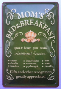 Blechschild-3D-MOMS-BED--BREAKFAST-HOTEL