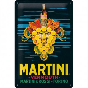 Blechschild-3D---MARTINI---VERMOUTH-GRAPES
