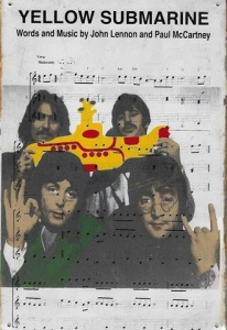 Rusty-Blechschild---THE-BEATLES---YELLOW-SUBMARINE
