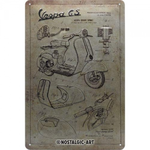 Blechschild-3D---VESPA-GS---PARTS-SKETCHES