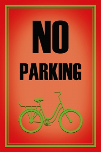 Blechschild---VELO---NO-PARKING