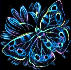 Diamond-Painting---NEON-SCHMETTERLING
