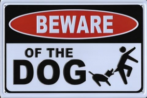 Rusty-Blechschild-3D---BEWARE-OF-THE-DOG
