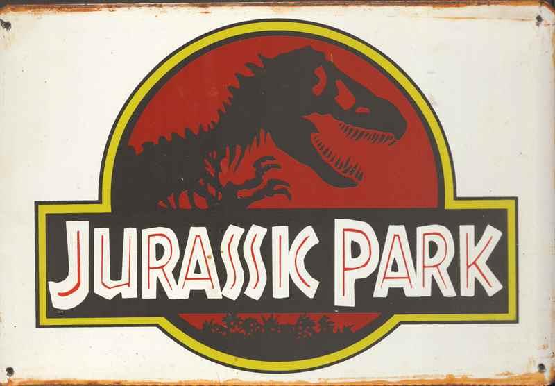 Rusty Blechschild Jurassic Park Big One Sale