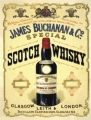 Nostalgie Blechschild - JAMES BUCHANAN WHISKY