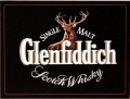 Blechschild - GLENFIDDICH SCOTCH LOGO QUER