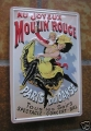 Blechschild - AU JOY EUX MOULIN ROUGE CABARET