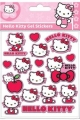 HELLO KITTY STICKER SET GEL PACK