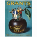 Nostalgie Blechschild - GRANTS CHERRY BRANDY