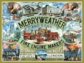 Nostalgie Blechschild - MERRY WEATHER & SONS FIRE ENGINE