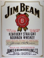 Nostalgie Blechschild - JIM BEAM WHITE LABEL WHISKY