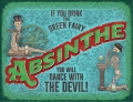 Blechschild - ABSINTHE GREEN FAIRY