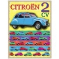 Nostalgie Blechschild - CITROEN 2 CV COLLAGE