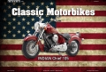 Rusty Blechschild - CLASSIC MOTORBIKES USA - INDIAN CHIEF 105