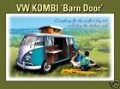 Blechschild - VW KOMBI BARN DOOR